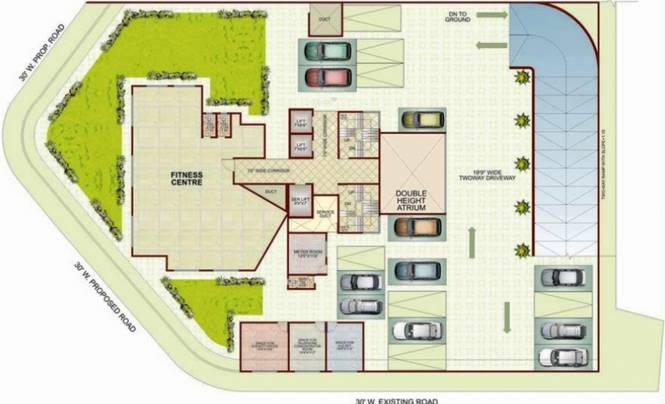 Sai Sai Siddhi Towers Layout Plan