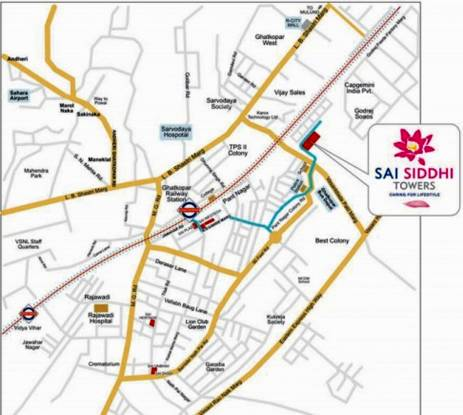 Sai Sai Siddhi Towers Location Plan