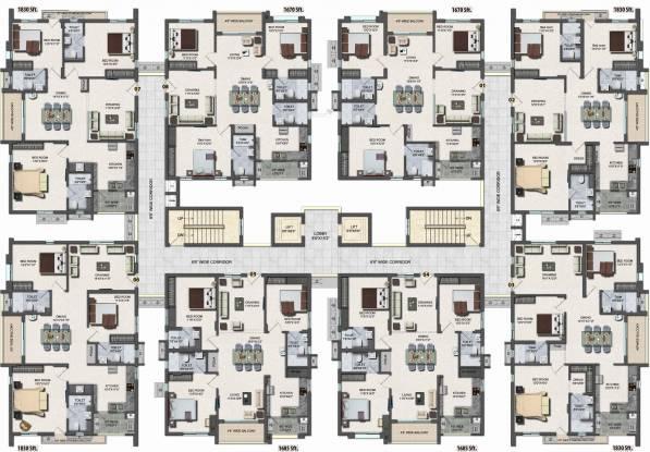 Lansum Madhav Towers Cluster Plan