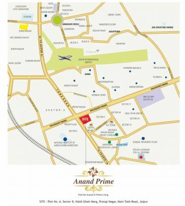 SDC Anand Prime Location Plan