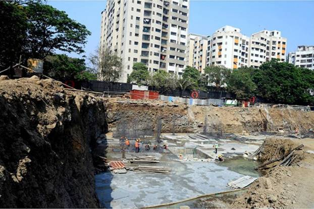 Kanakia Zenworld Phase I Construction Status