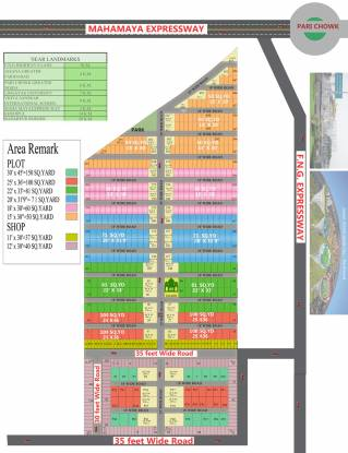 BKR Green City Layout Plan