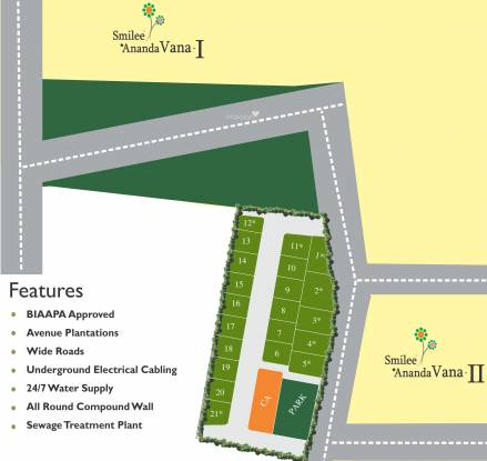 Blue Green Woods Layout Plan
