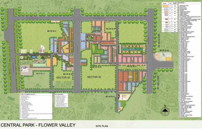 Central Park Fleur Villas Master Plan