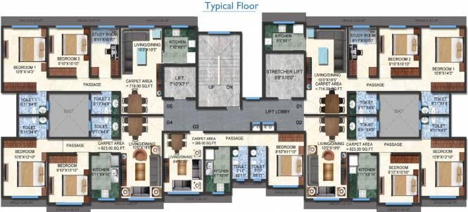 Kavya Ashwamegh Cluster Plan