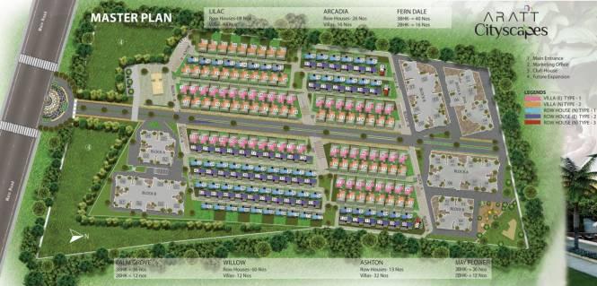 Aratt Cityscape Apartment Master Plan
