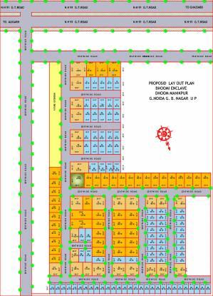 S Krajyog Builders Pvt Ltd Bhoomi Residency Layout Plan