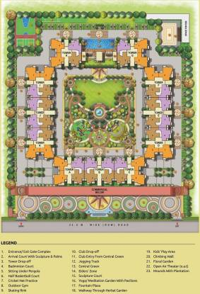 Arihant Abode Layout Plan