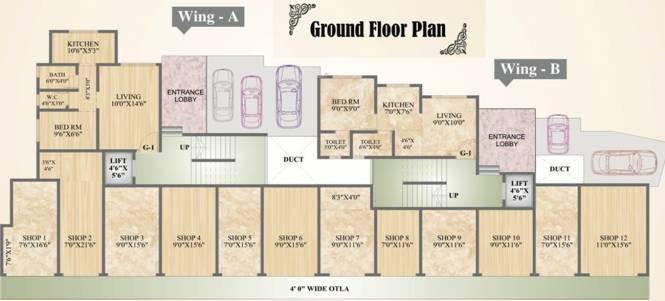 Shantee Sunshine Palace Cluster Plan