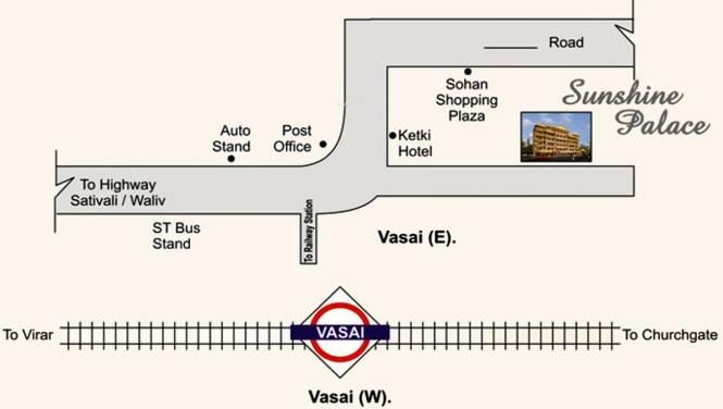 Shantee Sunshine Palace Location Plan