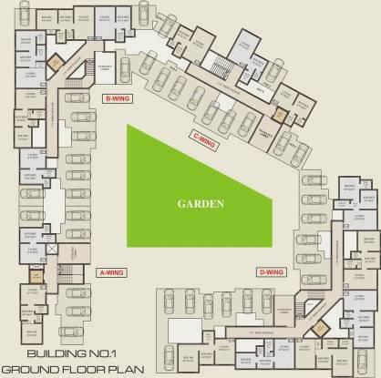 Shantee Sargam Avenue Cluster Plan