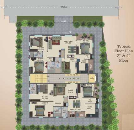 Raam Riverstone Habitat Cluster Plan