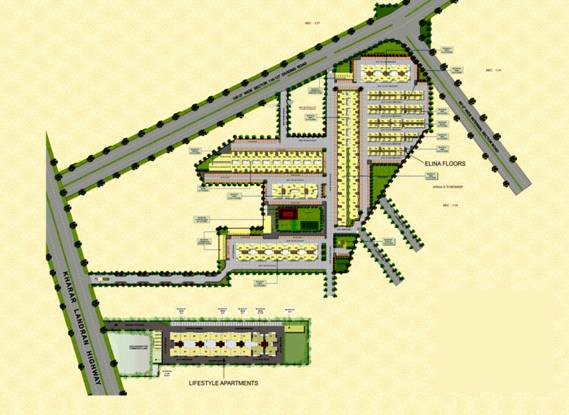 SBP City Of Dreams Layout Plan