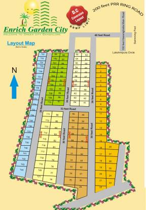 Enrich Garden City Layout Plan