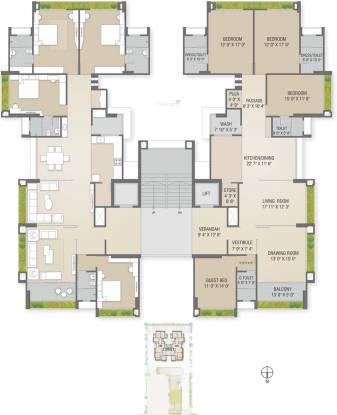 Sharanya Bellevue Cluster Plan