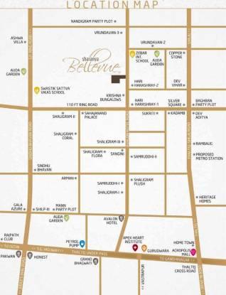 Sharanya Bellevue Location Plan