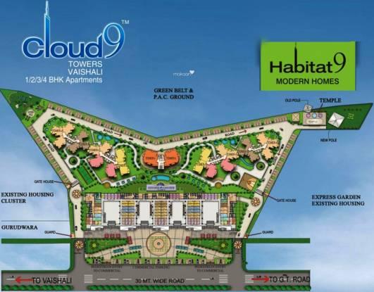 Rishabh Habitat9 Site Plan