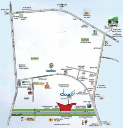 Rishabh Iconic9 Location Plan
