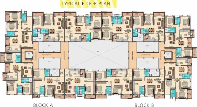Indrasai Indra Keerthi Sadan Cluster Plan