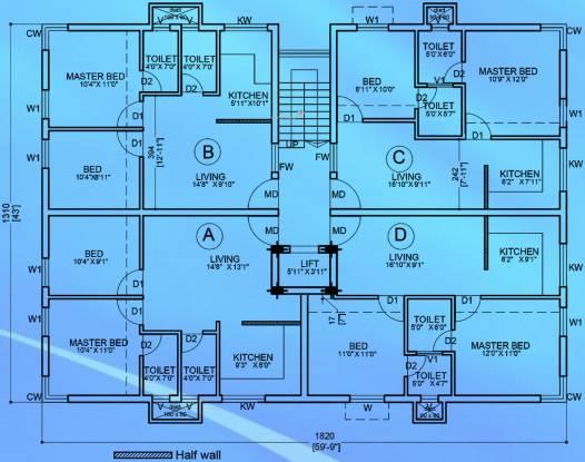 Victoria Saidhaan Richdale Cluster Plan