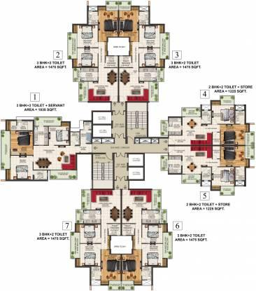 SKB Gold Coast 24 Cluster Plan