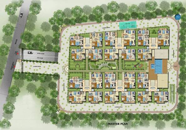 Estella Maple Square A Site Plan