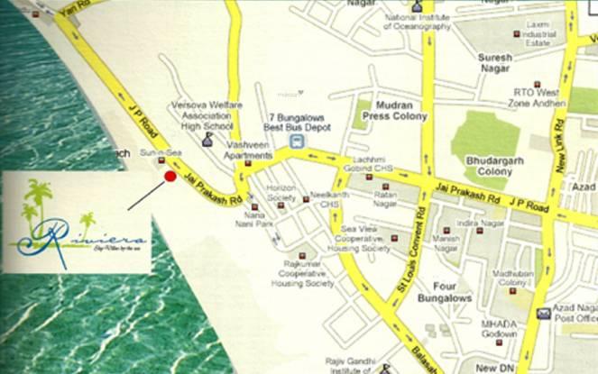 Akshay Riviera Location Plan