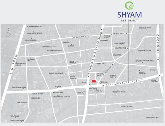 Maruti Shyam Residency Location Plan
