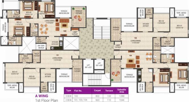 Magnova Manor Cluster Plan