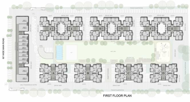 Siddhi Aarohi Elysium Cluster Plan