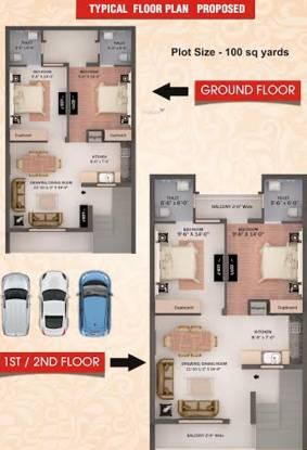 Elite Elite Home Cluster Plan