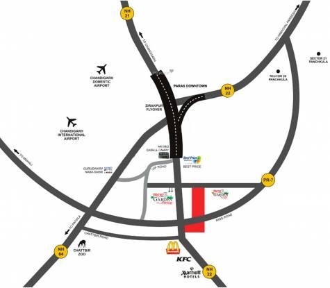 Maya Garden Avenue Location Plan