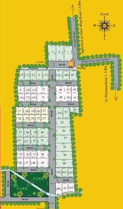 Muktha Samruddhi Nagar Layout Plan