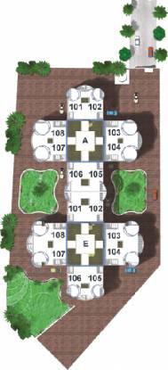 Goyal Kohinoor Vayona Layout Plan