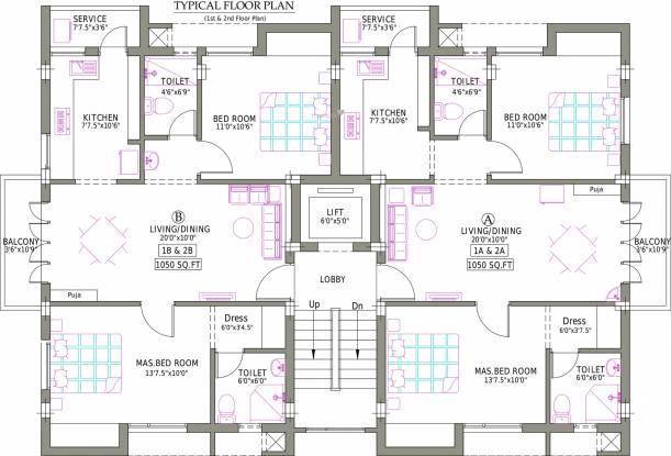 Pushkar Arul Arcade Cluster Plan