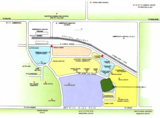 Motiram Royal Park Location Plan