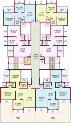 Siddharth Geetanjali Avenue Cluster Plan