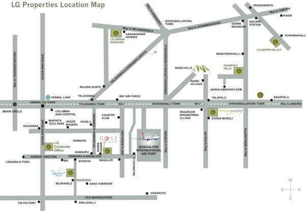 LG Rose Heritage Extension Location Plan