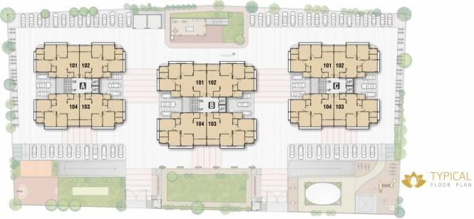 Kala Kalatirth Towers Cluster Plan