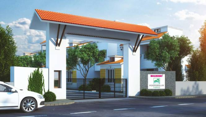 Colorhomes Poonamallee Farms Elevation