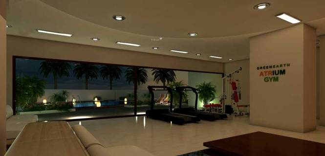 Green Atrium Amenities