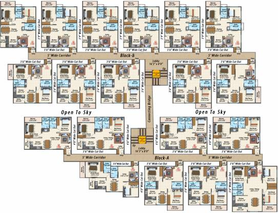 Sanvi Sankalpam Cluster Plan