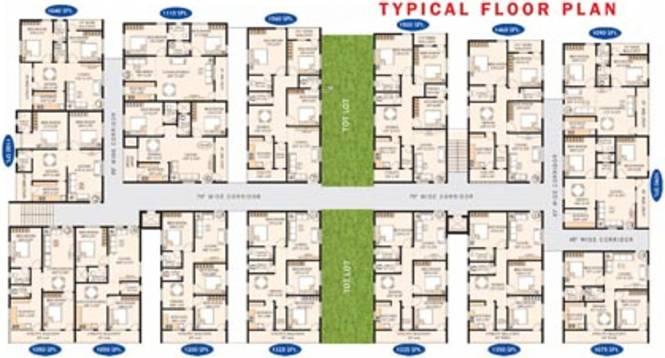 Bhoomatha Sai Durga Enclave Cluster Plan