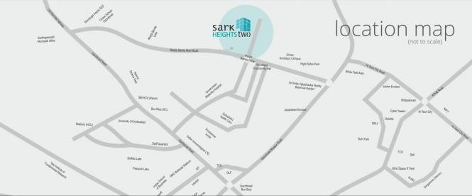 Sark Heights Two Location Plan