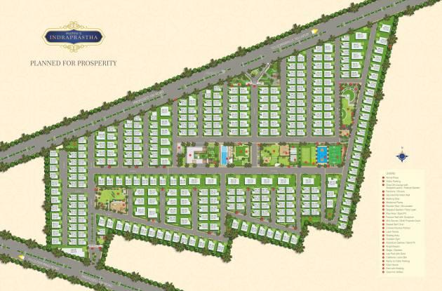 Muppa Indraprastha Layout Plan