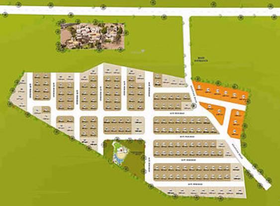 Green Morya Layout Plan