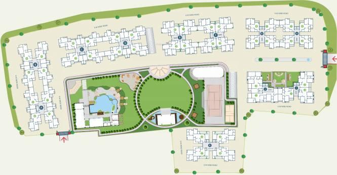 Alembic Shangri La Layout Plan