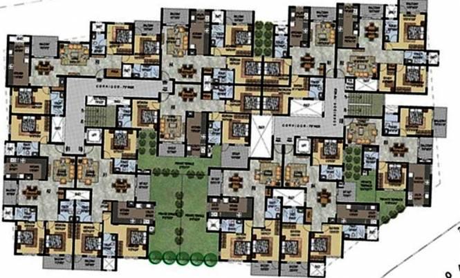 Uniworth Serenity Cluster Plan