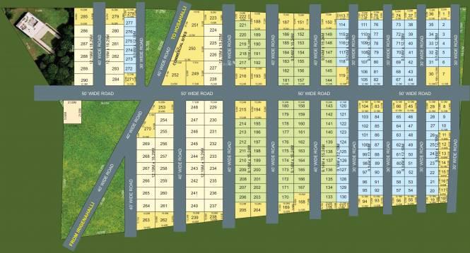 City VSR Rejoice Layout Plan