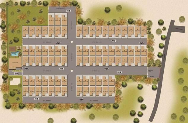 SV Ville Green Layout Plan